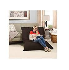 amazon com big bean bag chair pillow lounger large oversized full