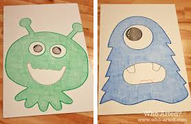 halloween games for kids feed the monster who arted
