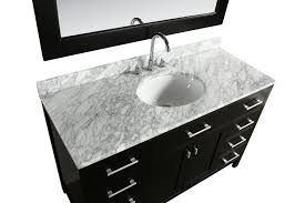 Design Element  In W X  In D Vanity DECHEWT Bathroom - Elements 36 inch granite top single sink bathroom vanity