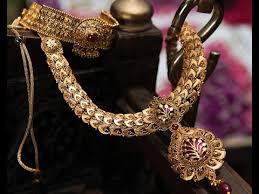 telugu wedding gold jewellery collections