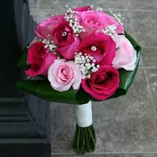 wedding flowers ottawa wedding bouquet in fuchsia w flowers ottawa