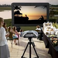 Backyard Theater Ideas Wide Screen Outdoor Theater Probably Not As Good As Made To Look