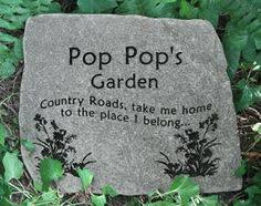 personalized memorial stones incorporating plaques for memorial garden memorial garden