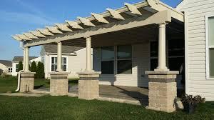 modern porch exterior pergola covers design with pergola canopy also glass