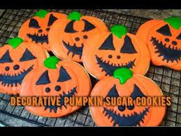 Halloween Pumpkin Sugar Cookies - decorative halloween pumpkin sugar cookies kiwanna u0027s kitchen