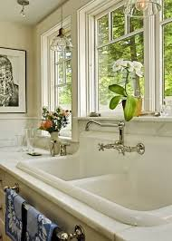 Kitchen Faucet For Farmhouse Sinks Which Faucet Goes With A Farmhouse Sink