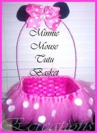 minnie mouse easter basket easter