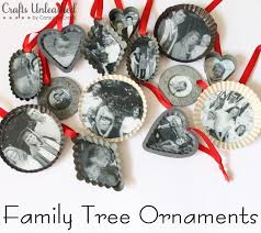 family tree handmade ornaments a meaningful way to