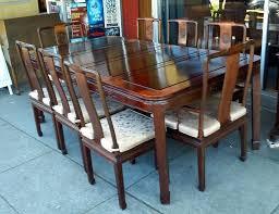 uhuru furniture u0026 collectibles sold 1970 chinese rosewood dining