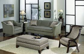 living room modern living room decoration with cozy grey sofa and