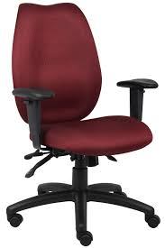 Fabric Swivel Chairs by Funiture Computer Chairs Ideas With Burgundy Fabric Swivel