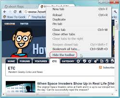 Google Top Bar How To Auto Hide The Address Bar In Google Chrome And Chromium