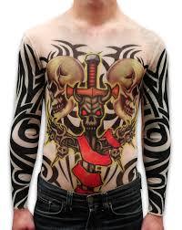 thug tattoos for girls sleeve tattoo slip on fake tattoo sleeves