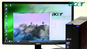Acer Small Desktop Computer Acer Aspire X3950 Small Form Factor Desktop Pc Youtube