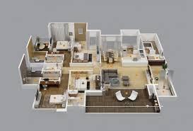 Home Design 4 Bedroom