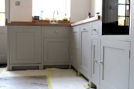 spray painting kitchen cabinets scotland painted kitchen in lancashire painted kitchens