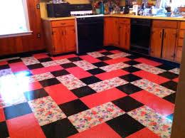 mosaic tile flooring in 12 vinyl tiles by karndeanvintage style