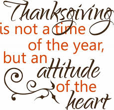 thanksgiving silent conversations from the
