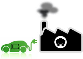 electric vehicles logo the coal powered ev myth electricity is only as clean as the