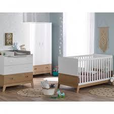 chambre de bébé complète chambre bébé compléte ines blanc chêne inesblck01