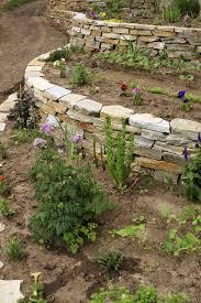 how to build a stone retaining wall garden best idea garden