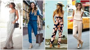 casual jumpsuit how to wear a jumpsuit like a style expert thetrendspotter