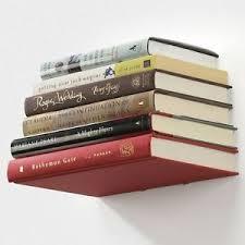 invisible floating book shelf ebay