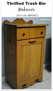 kitchen trash can storage cabinet storage bins trash bin storage cabinet black table furniture