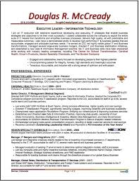 Resume For Supply Chain Executive Doug Mccready U2013 Professional Resume