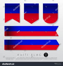 Slavic Flags Set World Flag Ribbon Template Vector Stock Vector 457415431