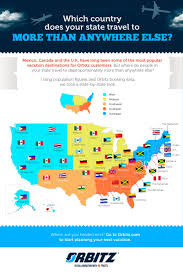 Cheap States To Live In by What U0027s Your State U0027s Most Popular International Travel Destination
