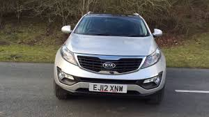 2012 12 kia sportage 1 6 2 5d 133 bhp panoramic sunroof leather