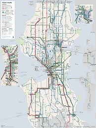 light rail map seattle the seattle transit map and guide