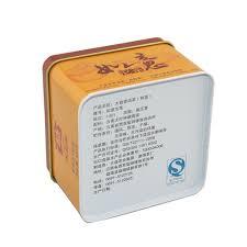 tea gift square tins tea empty tins qingyuan max tin cans