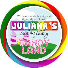 create your own invitations candyland birthday invitations alanarasbach