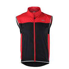 cycling jacket red popular windproof vest buy cheap windproof vest lots from china