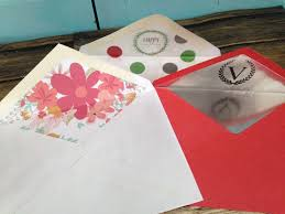 how to make an envelope liner template with silhouette studio and
