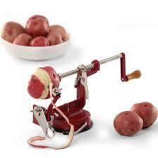 Useful Kitchen Items Amazon Com Back To Basics Apple And Potato Peeler Kitchen U0026 Dining