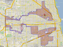 chicago gerrymandering map only you can st out gerrymandering updated 7 30 13 social