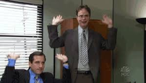 stages of syllabus week as told by the office