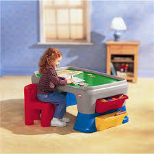 Kids Storage Lap Desk by Little Tikes Easy Adjust Play Table Toddler Art Desk With