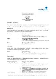 standard resume exles standard resume template standard format resume 11 template