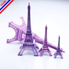 eiffel tower centerpiece wedding centerpieces table centerpiece 3d purple eiffel