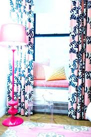 Navy And Pink Curtains Navy And Coral Curtains Navy Blue Coral Upholstery Fabric Large