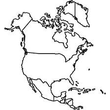 outline of south america map coloring map of america pictures coloring map of