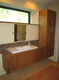 Bamboo Bathroom Vanities by Hand Made Custom Bamboo Plywood Vanity By Vermont Fine Woodworking