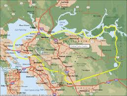 san francisco map east bay maps