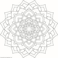 flower mandala coloring pages 188 u2013 getcoloringpages org