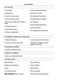 idioms to describe people free esl worksheets esl pinterest