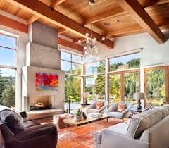 chalet home sense of place montana modern alpine modern